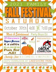 2021 Dream Family Fall Festival