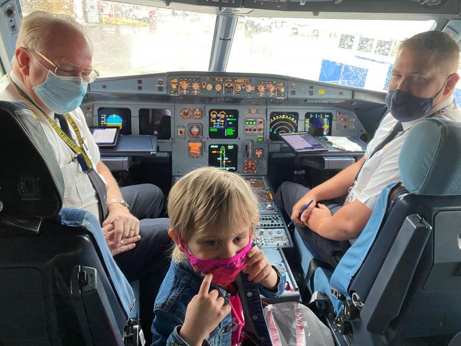 McKinley meeting the Pilots